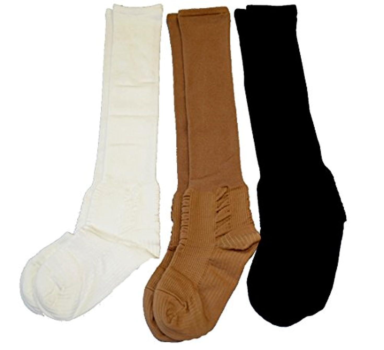エミュレートする推測不従順むくみ対策靴下【一般医療機器コーポレーションパールスター】 (22~23cm, 黒)