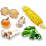 [レンタルオプション]バーベキュー食材チケット|まるごと野菜6品目セット※ご利用注意事項とお届け可能場所を必ずご確認ください。