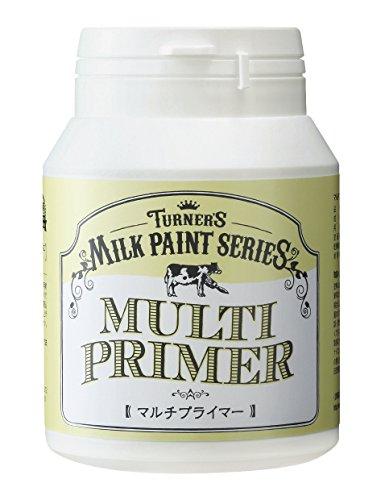 RoomClip商品情報 - ターナー色彩 メディウム ミルクペイント マルチプライマー 200ml MK200208