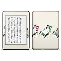 igsticker kindle paperwhite 第4世代 専用スキンシール キンドル ペーパーホワイト タブレット 電子書籍 裏表2枚セット カバー 保護 フィルム ステッカー 016439 シロクマ 動物