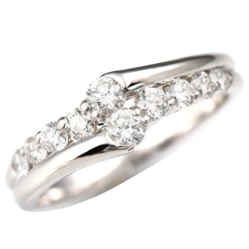 [ノダジュエリー][スイートテン]Ptダイヤモンドリング[0.5ct][ダイヤ:カラーD-F / クラリティVVS1-VS1 / カットEX-VG] 9号