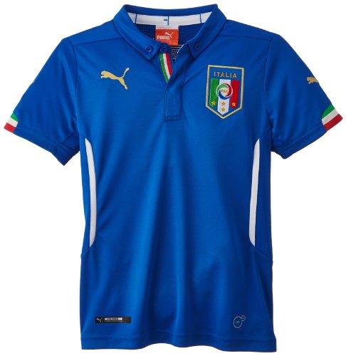 (プーマ)PUMA サッカー イタリア ホーム レプリカ半袖シャツ 744294 [キッズ] 01 チームパワーブルー 152