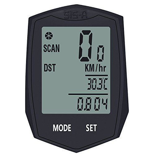 BIGO 自転車コンピューター サイクルコンピューター 多機能 バックライトコンピュータ LCD防水 サイクルメーター 走行距離計 走行時間計 ワイヤレスコンピュータ スピードメーター