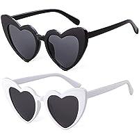 Heart Shaped Sunglasses Women Clout Goggle Oversized Vintage Cat-eye Party Eyewear