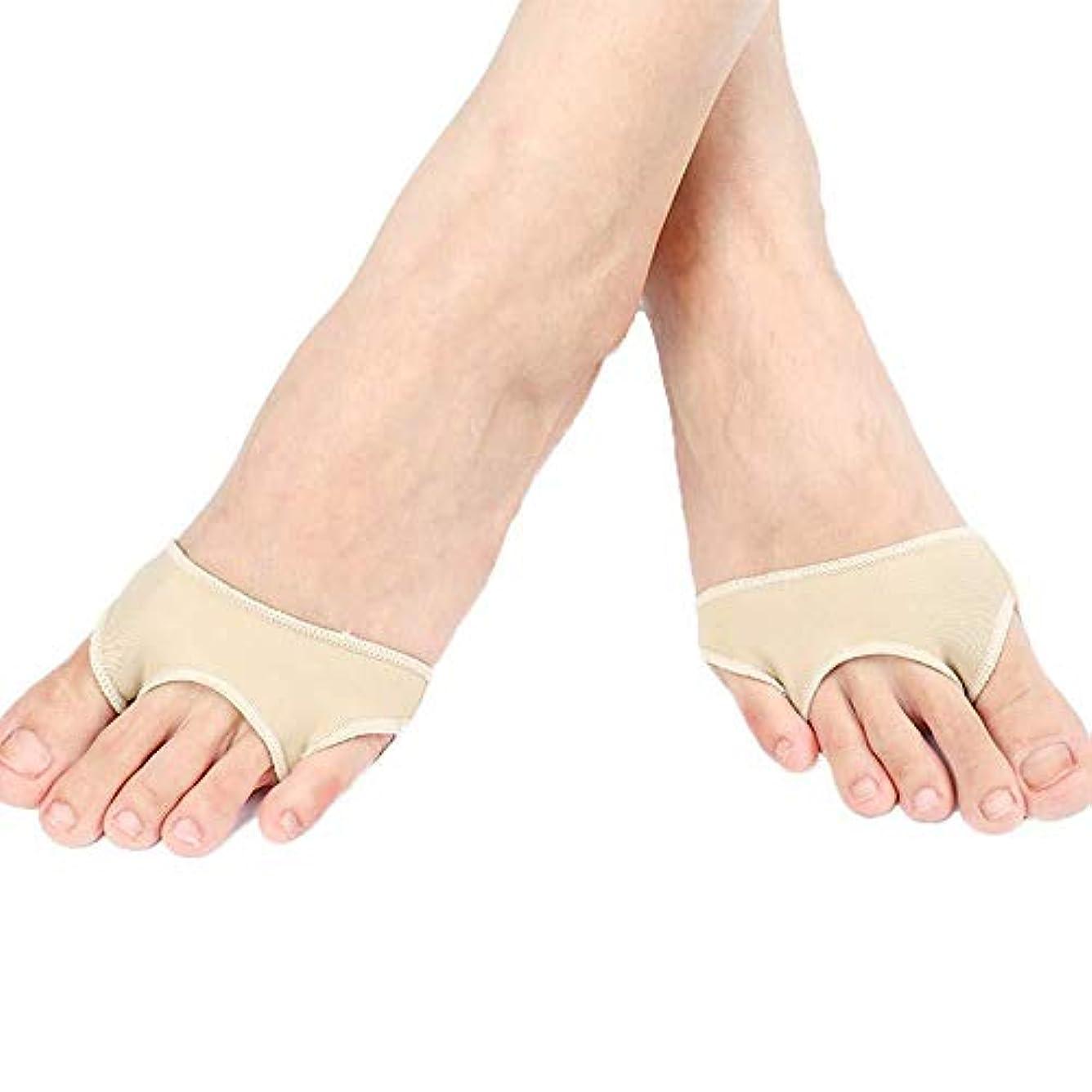 消費者インシデント豊富なつま先セパレーター、矯正足の親指矯正器、つま先の痛み、および外反母painの痛みの緩和のための内蔵シリコンジェルパッド,M