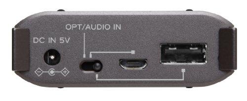 TEAC ポータブルヘッドホンアンプ DAC搭載 ブラック HA-P50-B