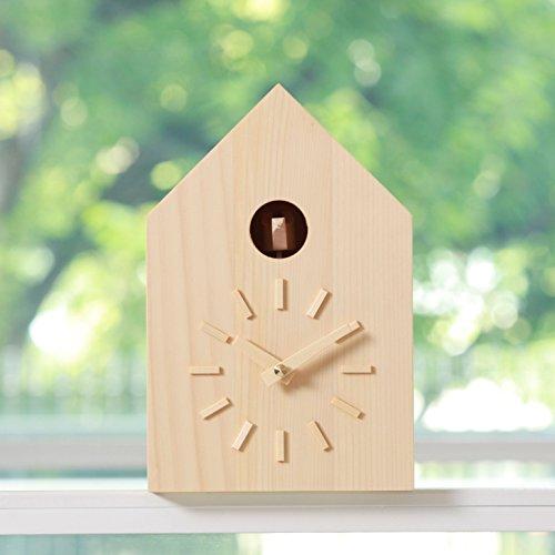 鳩時計(モミ・白)