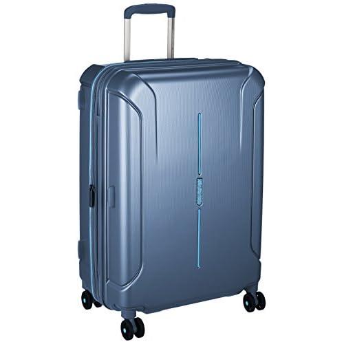 [アメリカンツーリスター] スーツケース TECHNUM テクナム スピナー68 無料預入受託サイズ エキスパンダブル  保証付 73L 68cm 3.7kg 37G*01002 01 メタリックブルー