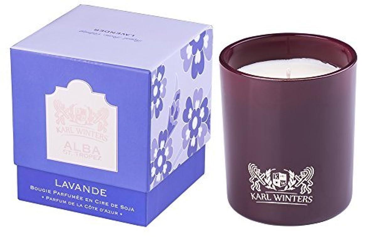 船上旧正月抑制Luxury Scented Candle 10oz - Lavender from Provence [並行輸入品]