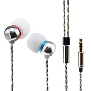 Wooeasy Light T 5mm超小型イヤホン ダイナミックユニット ビジネス向き ミニ型 スリーピングイヤホン ソフト 音楽を聴きながら、自然な安らぎの眠りができる アップグレード版(light-t2 銀)