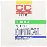 FUJIFILM 色補正フィルター(CCフィルター) 単品 フイルター CC R 40 7.5 X 1