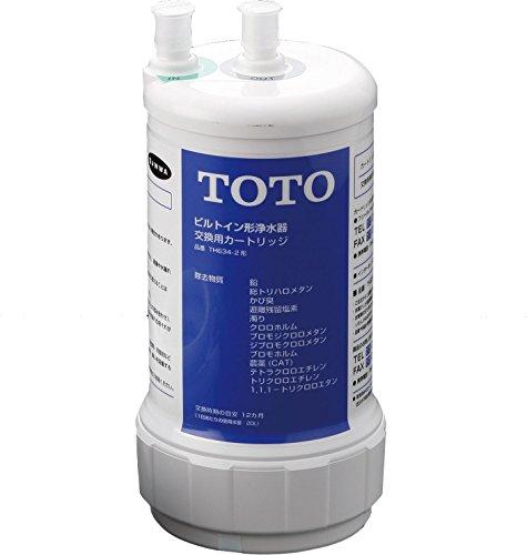 TOTO【13物質除去タイプ】ビルトイン用浄水カートリッジ TH634-2