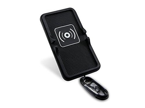Xberstar Qi 車載ワイヤレス充電器 スマホホルダー 車載ホルダー 滑り止めマット 充電パッド シリコン製