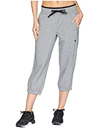 [PUMA(プーマ)] レディースセータージャンプスーツ Sweat Capri Medium Gray Heather XS