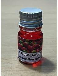 5ミリリットルアロマイチゴフランクインセンスエッセンシャルオイルボトルアロマテラピーオイル自然自然5ml Aroma Strawberry Frankincense Essential Oil Bottles Aromatherapy...