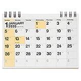 能率 NOLTY 2020年 カレンダー 卓上 68 A7 C254 ([カレンダー])