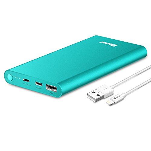 Bonai モバイルバッテリー 軽量 13800mAhスマホ...