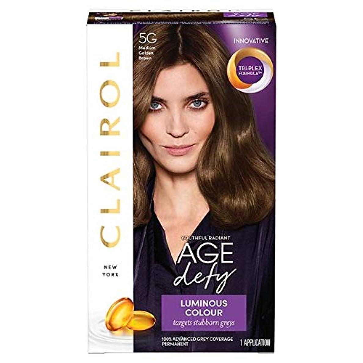 空白暴行冬[Nice'n Easy] クレイロールの??素晴らしく、容易なメディア黄金色に5グラムの染毛剤 - Clairol Nice And Easy Medium Golden Brown 5G Hair Dye [並行輸入品]