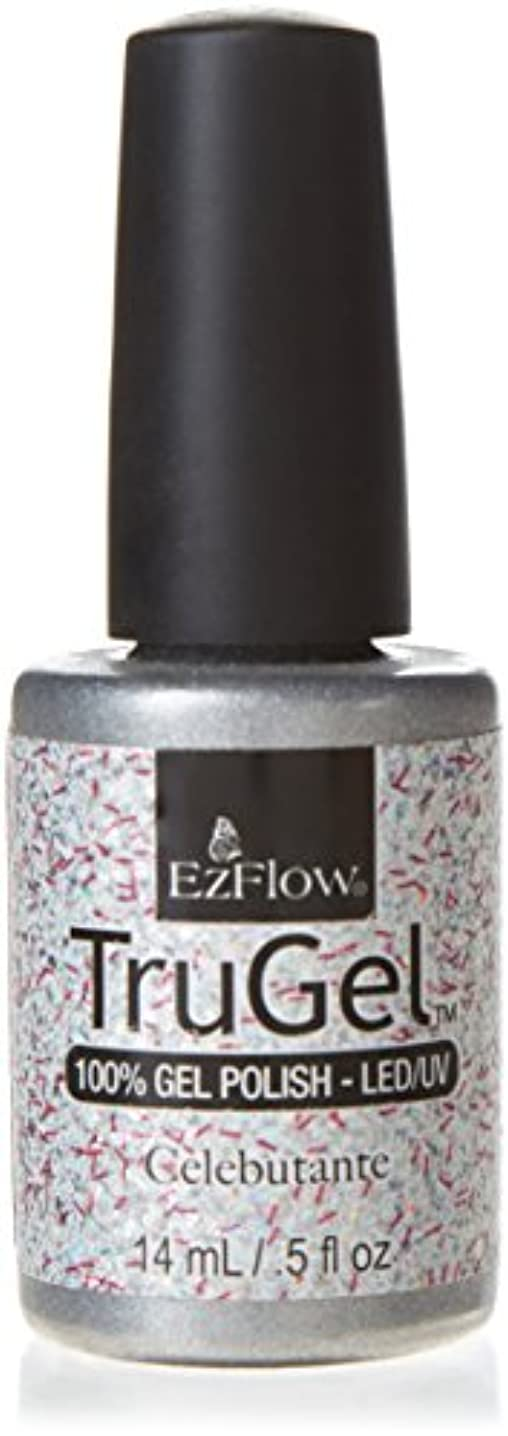 始める相対サイズ歯科医EzFlow TruGel Gel Polish - Celebutante - 0.5oz / 14ml