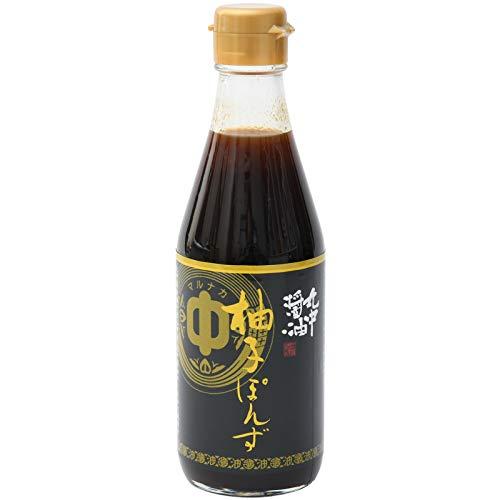 丸中醤油『柚子ぽんず』
