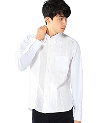 (コーエン) COEN  ネルパッチワークボタンダウンシャツ 75106525089 01 White L