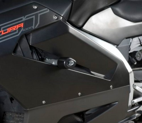 R&G(アールアンドジー) エアロクラッシュプロテクター ブラック RST1000 FUTURA [フトゥーラ] RG-CP0161BL