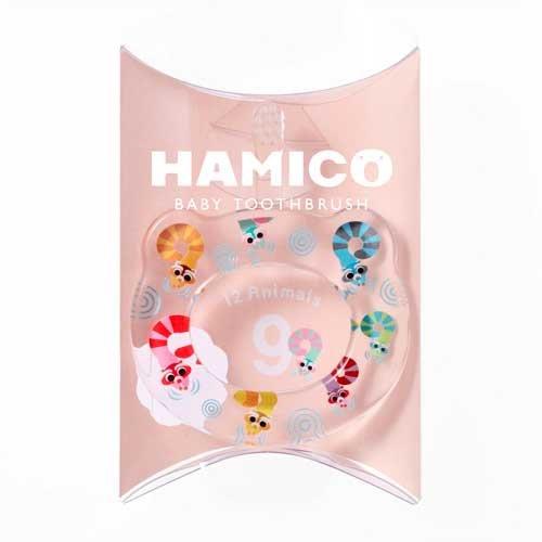 HAMICO(ハミコ)『12Animals HAMICO BABY TOOTHBRUSH(ハミコベビートゥースブラシ)』