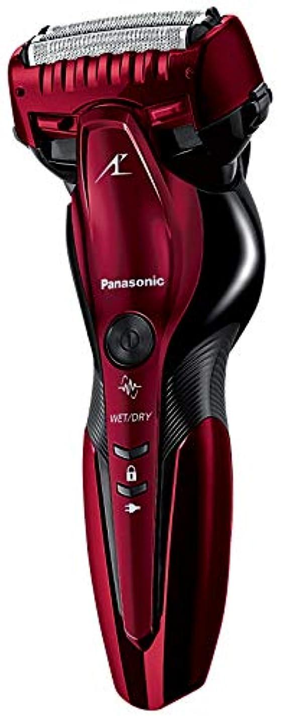奨励します増加する信号パナソニック ラムダッシュ メンズシェーバー 3枚刃 お風呂剃り可 赤 ES-CST6R-R