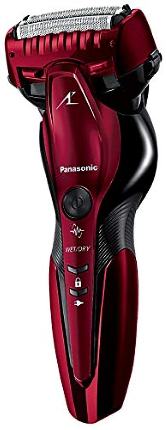楕円形前任者慣れているパナソニック ラムダッシュ メンズシェーバー 3枚刃 お風呂剃り可 赤 ES-ST6R-R
