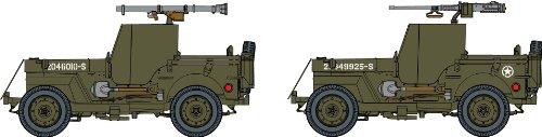 1/72 アメリカ軍 1/4トン 4WD 装甲トラック