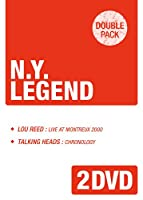 「ルー・リード/ライヴ・アット・モントルー2000」+「トーキング・ヘッズ/クロノロジー~グレイト・ライヴ1975-2002」《ダブルパック・シリーズ》 [DVD]