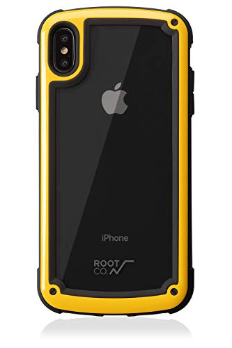 【ROOT CO.】iPhoneXS Max ケース 耐衝撃 Gravity Shock Resist Tough & Basic Case. (イエロー)