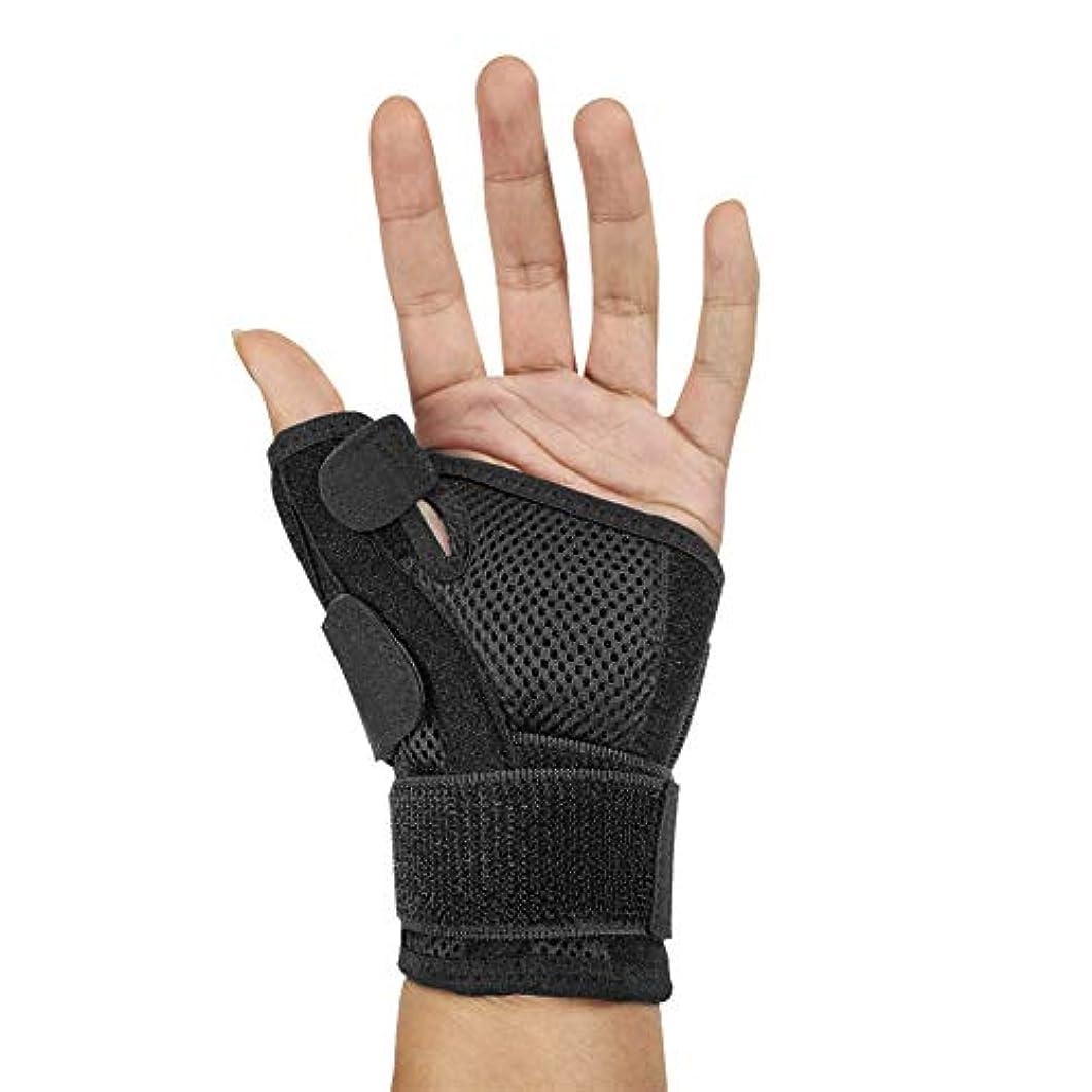 ヒューマニスティック滑り台印象派指サポーター ばね指サポーター バネ指 腱鞘炎 指保護 固定 調整自在 左右兼用 フリーサイズ