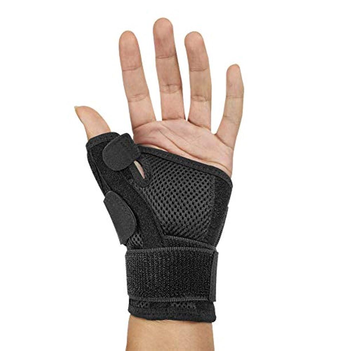 フォルダしてはいけない甥指サポーター ばね指サポーター バネ指 腱鞘炎 指保護 固定 調整自在 左右兼用 フリーサイズ