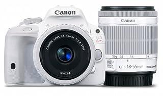 Canon デジタル一眼レフカメラ EOS Kiss X7(ホワイト) ダブルレンズキット2 EF-S18-55mm F3.5-5.6 IS STM(ホワイト) EF40mm F2.8 STM(ホワイト) 付属 KISSX7WH-WLK2 (B00KAQX65U)   Amazon price tracker / tracking, Amazon price history charts, Amazon price watches, Amazon price drop alerts