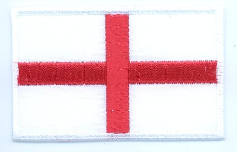 埋め込むマルクス主義無謀国旗ワッペン イングランド