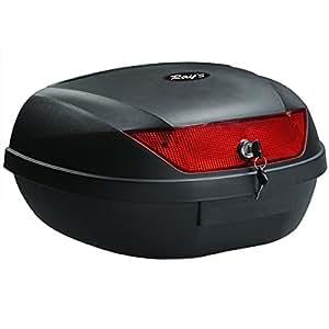 Ray's (レイズ) リアボックス 48L トップケース バイク 大容量 脱着可能式 ブラック 23522