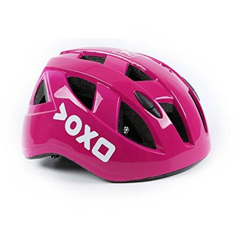 Helmet children for children bike ultra lightweight adjustable infant kids elementary school skateboarding, applying sports helmet [Anyfahison] (purple, M)