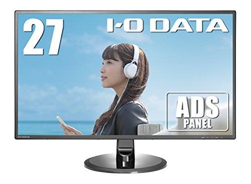 『I-O DATA モニター 27インチ フレームレス ADS非光沢 スピーカー付 3年保証 土日サポート EX-LD2702DB』の1枚目の画像