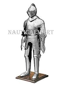 NAUTICALMART プレートアーマー 15世紀 戦闘スーツ 中世の騎士