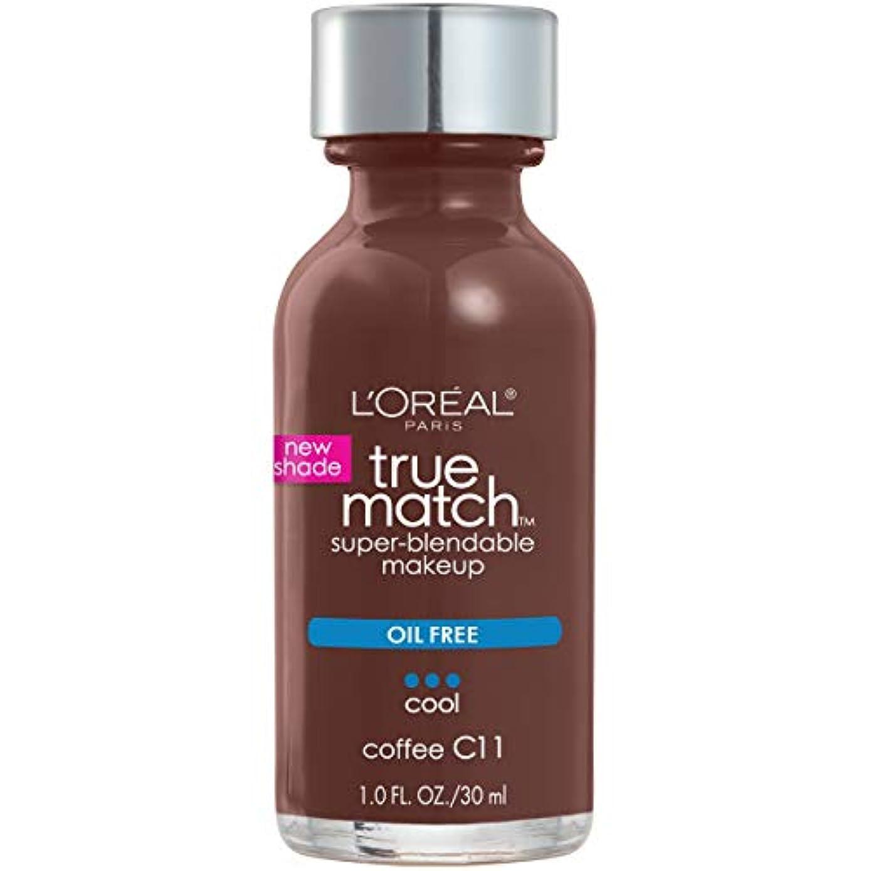 熱心な型裁定L'Oréal True Match Super-Blendable Foundation Makeup (COFFEE)