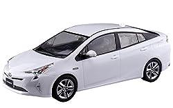 青島文化教材社 1/32 ザ・スナップキットシリーズ トヨタ プリウス スーパーホワイト2 塗装済みプラモデル 02A