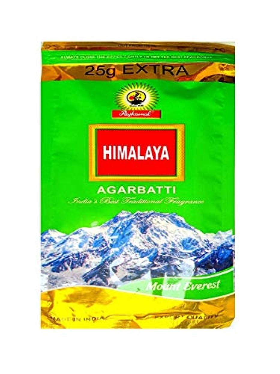挨拶潤滑する威信Gift Of Forest Himalaya Mount Everest Agarbatti Pack of 450 gm