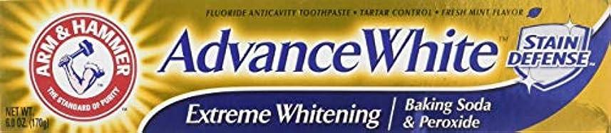 アシュリータファーマン世界の窓商人Arm & Hammer アドバンスホワイトエクストリームホワイトニングハミガキクリーンミント - 6 Oz-
