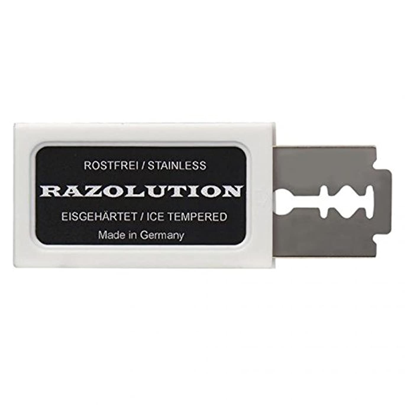 じゃない和マッシュRAZOLUTION Razor blades, 10 pieces, Made in Germany