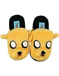 (アドベンチャー?タイム) Adventure Timeオフィシャル商品 子供用 ジェイク スリッパ 室内履き ルームシューズ