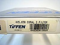 Tiffen 4x 5.65インチコーラル2ソリッドカラーフィルタ