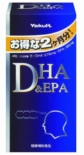 ヤクルト DHA&EPA 約240粒...