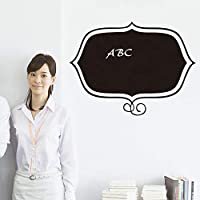 Onlymygod pvc素材黒板ステッカーオフィス黒板ステッカー50×55センチ