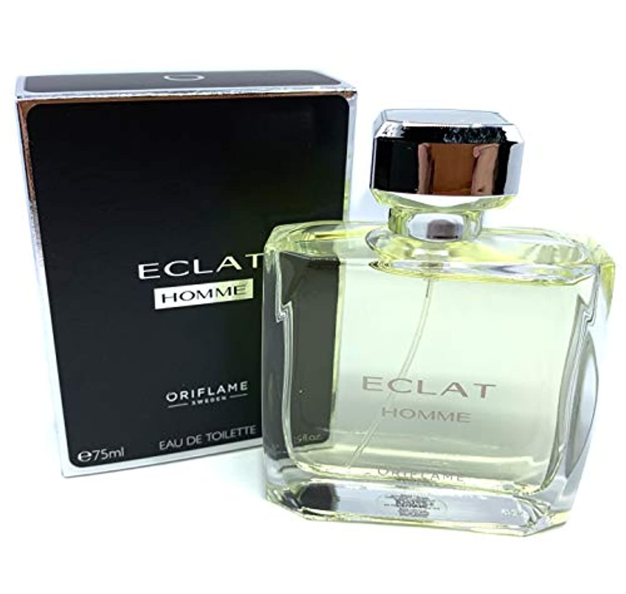 恐竜比較瞑想するORIFLAME Eclat Homme Eau De Toilette Natural Spray For Him 75ml - 2.5oz